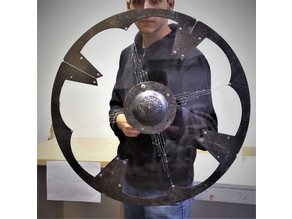 Viking shield boss