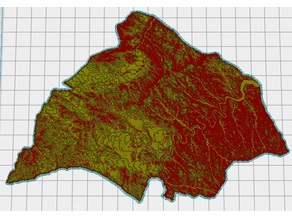 Alcañiz Topographic Map
