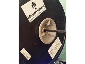 Filament spool hub for 608ZZ skate bearings