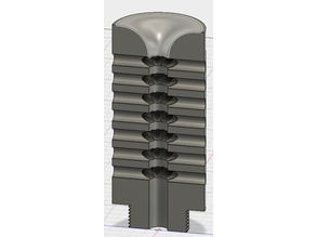 Airsoft muzzle break type L96