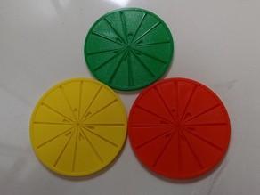 Citrus Slice Coaster