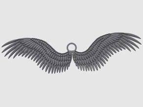 Angel Wing Keychain