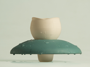 Water lily: the Floating Mug