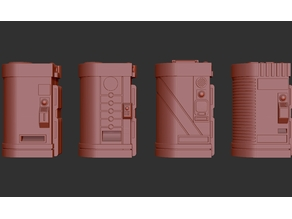 Type 5 Vending Machines. (Foodstuffs, 4 Models)