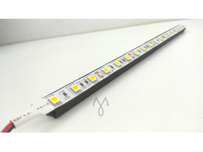 10mn Led Strip Rail for 2020 profile