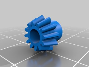 Bevel gear for axis Duplo Loco