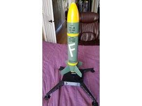 Pringles F-Bomb Model Rocket