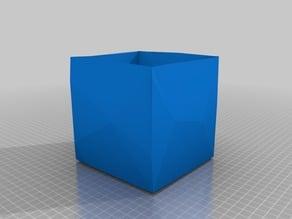 Creased Tissue Box cover