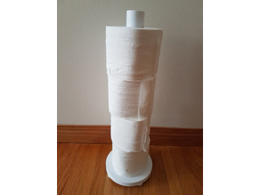 Free-Standing Toilet Paper Stand