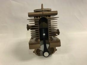 Simple 2-Stroke 1 Cylinder Engine Model