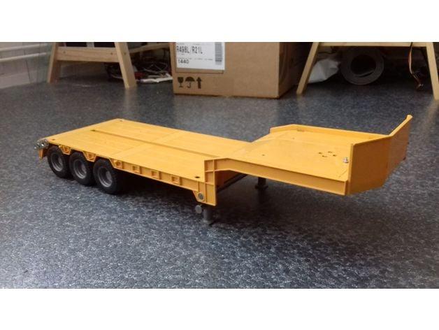 Schwerlastturm 1//14 1//16 3D Drück Modellbau LKW Umbau passt für tamiya bruder