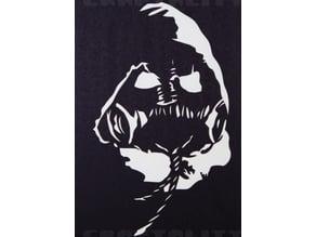 Scarecrow stencil