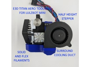 E3D Titan Aero Toolhead for LulzBot Mini
