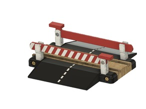 Brio and Ikea compatible track crossing