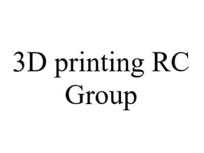3D Printing RC Facebook Group