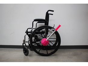 Hand Drive Wheelchair Attachment (non-geared)
