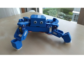 Ez Arduino MiniKame - 8 DOF Quadruped Robot (Arduino Nano with Shield)