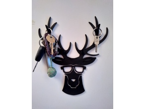 Cool deer keys hook