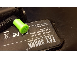 Battery plug cover Fatshark