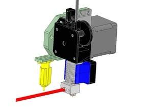 Scalar - BLTouch + E3D Titan mount for E3D V6 hot ends
