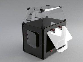 makerbot replicator2 Dust-proof enclosure