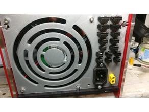 Black Widow control box plug panel