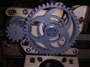 Printrbot Wood Extruder Gear