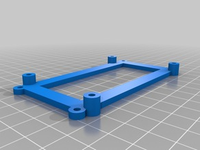 RAMPS adapter for Sanguinololu mounting holes