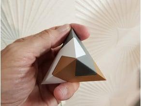 Pyramid in 3 parts - kawai tsugite