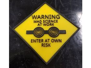 Mad Science Sign