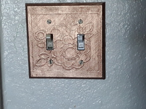 Floral lightswitch