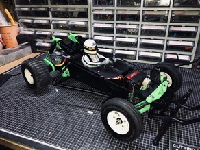 Tamiya Grasshopper upgrades : Driver figure set