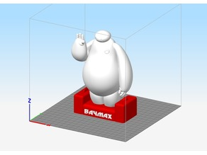 Baymax with charger base