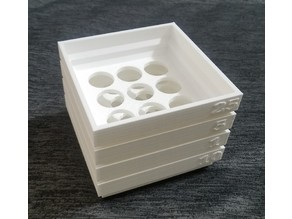 Stackable Coin Sorting Trays (US Coins)