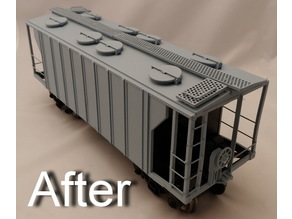 Aristo-Craft Covered Hopper Update