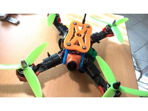 "220 Quadcopter with ZMR (250?) arms - 5"" props max"