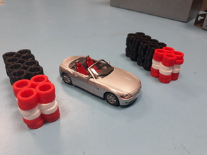 1:43 tyre stack R/C Cars Dr!ft