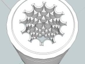 All Plastic LM8UU Bearing