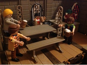 Playmobil Medieval Bench