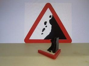 3D Traffic sign