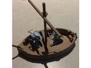 boat prop for D&D