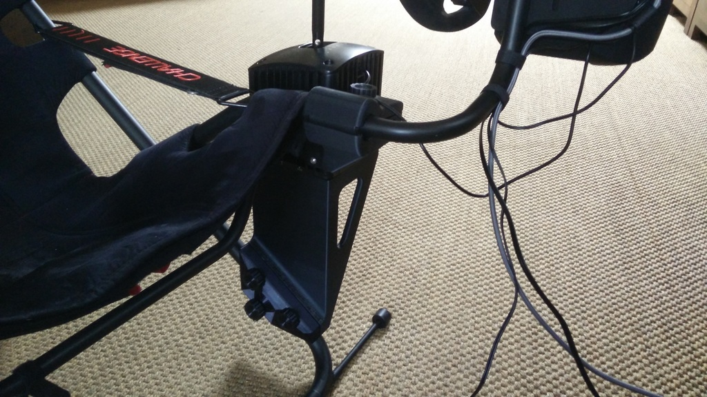 Fanatec Shifter v1 5 Playseat Challenge LH mounting brackets