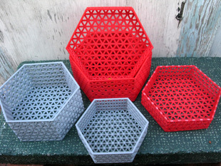 Containers composed of Triangles