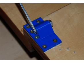 Holder for brake element @ living room cabinet