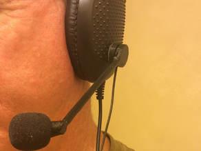 Customizable Headset Microphone Boom