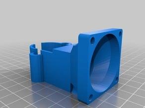 K8200 Extruder fan support