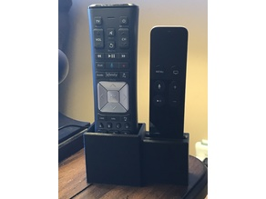 Xfinity Remote Caddy with Apple TV Remote Dock