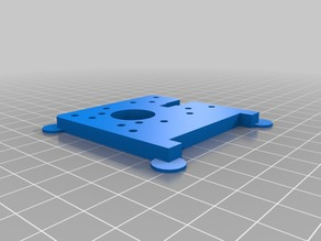 3D Printable Replacement Parts for Plastruder MK6 Support (plate B)