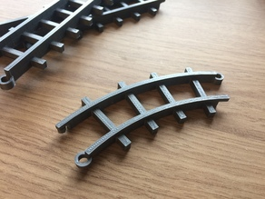 45 degree track bend (20mm)