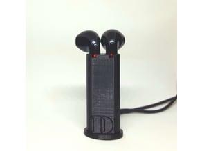 Earphones I7 TWS charger stand